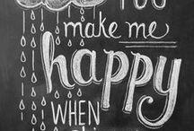 Grown Up Chalk Board Art!