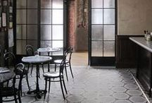cafés + restaurants / by Ashley Tarr