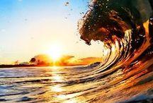 The ocean & the beach. <3 / by Cassidy