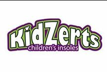 KidZerts Children's Insoles / The KidZerts Children's Insoles promote proper heel, arch, and foot alignment to reduce foot fatigue, ankle & arch pain, and the discomfort of a child's flat feet.