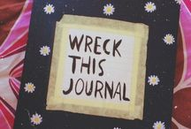 Wreck this journal, ejemplos