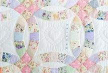 Quilting - Double wedding ring
