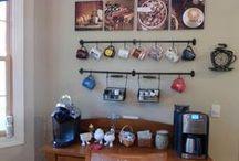 Home Coffee Station Ideas