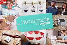 Handmade At Amazon. / Handmade At Amazon features artisans with handmade and really cool items.  If you would like to be added to the  group please follow me and message me. Lots of handmade items and shopping for the holidays #handmade #handmadeatamazon. Please remember  to pin somebody else's pin each week to gain more exposure.