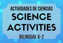 Actividades de ciencias/ Science Activities K-2