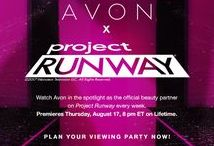 Avon x Project Runway Season 16 / Check out the Avon Beauty Lab during this season of Project Runway! See the looks and shop them at my Avon eStore! #AvonxProjectRunway