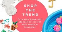 Avon Home Palm Chic Collection 2018 / Avon Home features the latest spring decor, dining & entertaining products, cooking items, + more! This brochure is valid from Campaign 12 - Campaign 15.