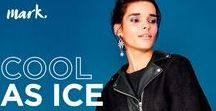 Cool As Ice Collection 2018 from mark. By Avon! / Winter isn't over yet, but the season's coolest trends will get you through - shreds, tears, jagged edges, & more! Shop the mark. By Avon boutique inside my Avon eStore. Shipping is FREE with $40 orders! https://ericagerlemann.avonrepresentative.com/