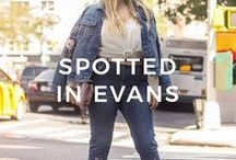Evans | #SPOTTEDINEVANS / A little look at how our favourite bloggers and models are rocking the latest Evans products! Don't forget to share your style with #spottedinevans