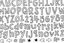 Printables/Fonts  / by Chris Rogers-White