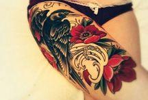 Tattoos and Piercings / Tattoos and piercings  / by Ariana Evans