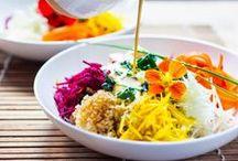creative salads // vegetarian