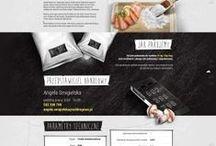 Ideas for new Webdesign for restaurant / На этой стене я собираю инспирации для нового веб сайта, который будет запроектирован для ресторана Leziz в Варшаве