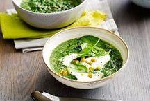 warming soups // vegetarian