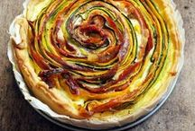 tarts and tartelettes // vegetarian