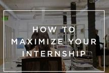 The Internship / Taking an internship provides you with a great opportunity to learn new skills, put theory into practice, test a new career path and industry and network with new connections that will become invaluable for your career. This collation of tips, insight and tricks will help you be an integral part of your new work team.