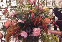 Floral / Stunning floral arrangements by local San Francisco florists who donate their incredible talent and hard work by creating custom arrangements for The San Francisco Fall Antiques Show.