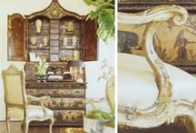 Interiors / Interior design inspired by art and antiques.