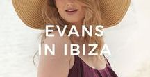 Evans | IN IBIZA / Escaping to the sun, sea and sand of Ibiza this summer? We've got your beach and poolside style covered.  From statement swimwear for the beach to maxi dresses for the bar, we've got everything you need to escape in style this summer.