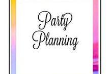Pretty Party Planning / Party Ideas