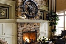 Fireplaces / by Linda B