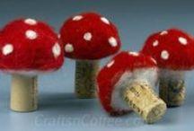 Mushroom Crafts / by CraftsnCoffee