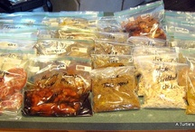 Cooking - Bulk meal planning / Freezer Meals / by Annie Murray