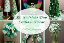 St. Patrick's Day Crafts / by CraftsnCoffee