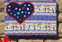 I Love the USA Blog Hop - Patriotic Crafts