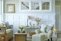 Board and Batten-wood working -wall treatments / by Linda B