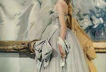 Elegant Editorial / Long dresses, and elegant women
