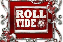 HOW I ROLL.......TIDE ROLL! /  ALABAMA  / by that BAMA girl•.¸¸.•♥