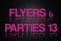 Flyers e Festas 2013