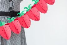 Fruits and Crafts / You know we are all about the FRUIT. Here are our favorite fruit themed crafts & DIY projects!