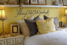 Bedroom ideas / by Wendy Brimmer