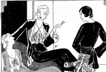 1930's loungewear