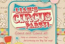 birthday party - circus / by Amanda Boggs