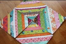 Bee Blessed Inspiration / Lots of block patterns and inspiration for the charity quilting bee 'Bee Blessed'.