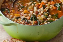 Soups, Stews, and Some Chili / Soups, Stews, Broths, and Chili. / by Kimberly Baxter Packwood