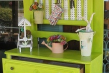 Potting Benches / by Wendy Brimmer