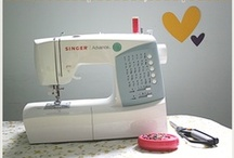 Feeling Crafty - Sewing & Knitting / by Purple Moon Designs Hair Jewelry