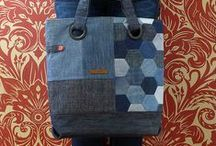 Denim / How to use recycled jeans for fabulous and versatile sewing projects.