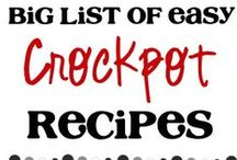 food - crockpot / by Amanda Boggs