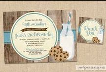 birthday party - milk & cookies / by Amanda Boggs