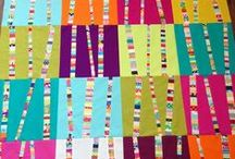 Scrap Busters / How to use my growing pile of fabric scraps! Ideas for scrappy quilts and other projects.