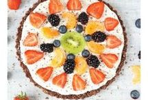 Fresh Fruit Desserts / Everyone has a sweet tooth for desserts... Why not try one of these desserts that are both delicious and healthy for you?!