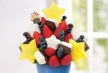 Fourth of July Celebration Ideas / The Fourth of July is a weekend to celebrate everything in red, white, and blue! Here is our list of some awesome ways to celebrate this great holiday weekend! / by Edible Arrangements