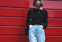 90s Jeans / fashion trend: the new 90s denim