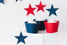 Red, White, & Fruit! / Get Festive with stars & stripes and the good ole red, white, and fruit (well...we mean blue, too!)  The Fourth of July is a a great opportunity to celebrate everything in red, white, and blue!