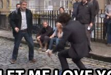 SHERLOCK etc / funny pic of the cast